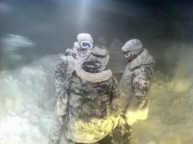 """Imágenes de la película """"Frost""""."""