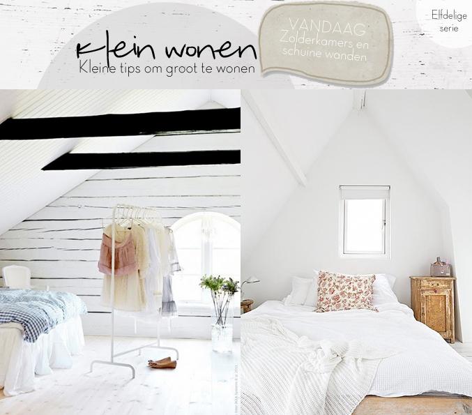kleine slaapkamer met schuine wanden inrichten ~ lactate for ., Deco ideeën