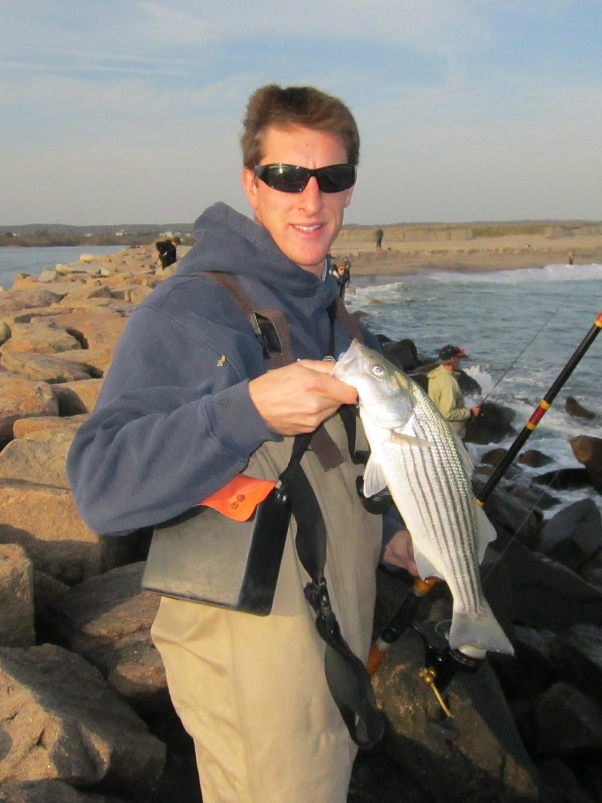 Rhode island striped bass fishing and baseball for Best striper fishing spot in ri