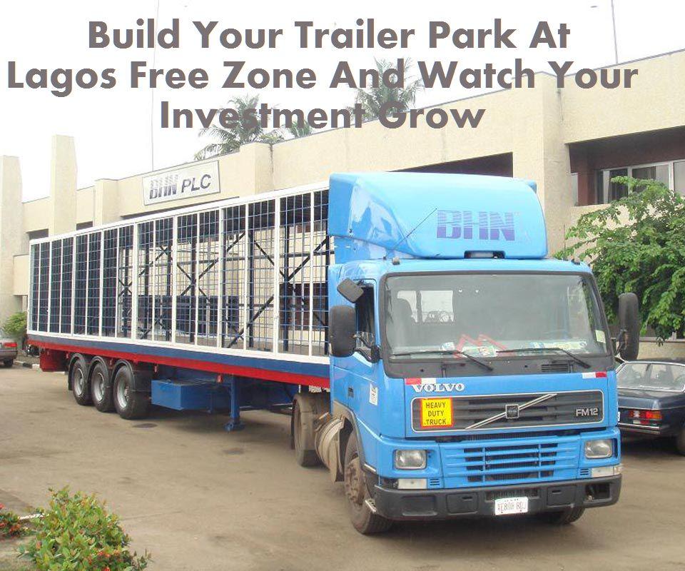 Lagos free Zone Trailer Park