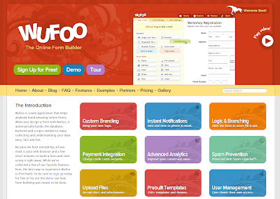 Wufoo - The Online Form Builder Screenshot