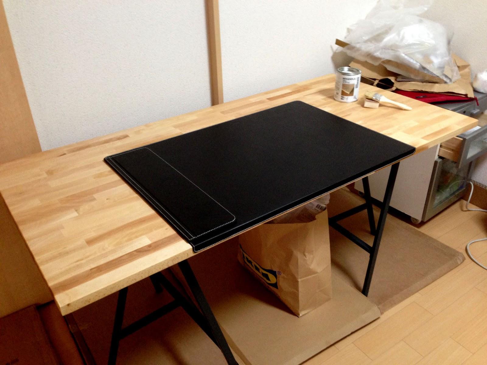 モノものレビュー はいんけるblog Ikeaで作ろうpcデスクとホームオフィス その1