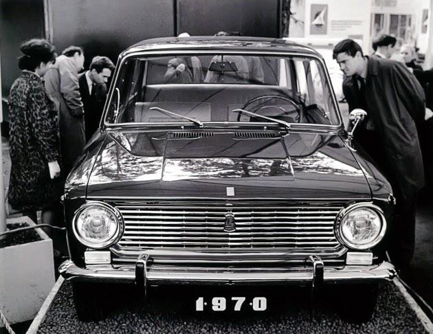 ВАЗ-2101 на выставке в 1970 году