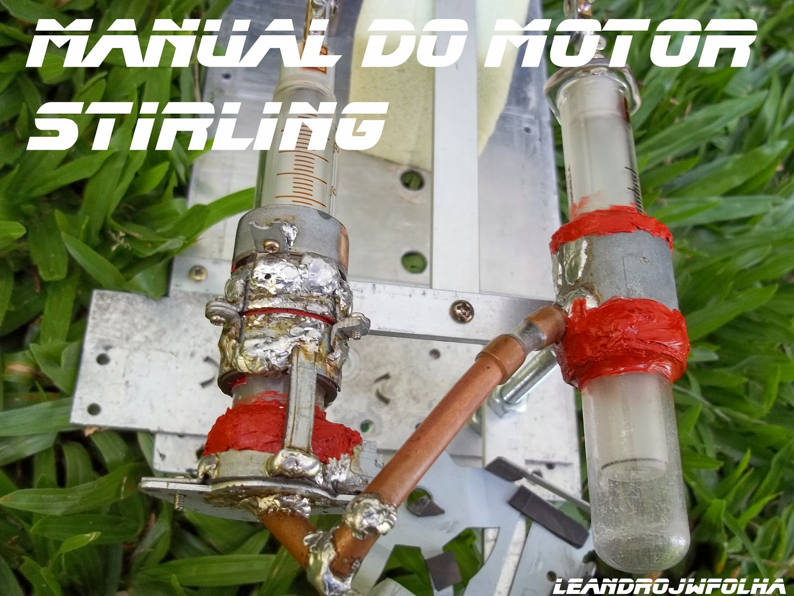 Manual do motor Stirling, imagem do motor Stirling Alfa