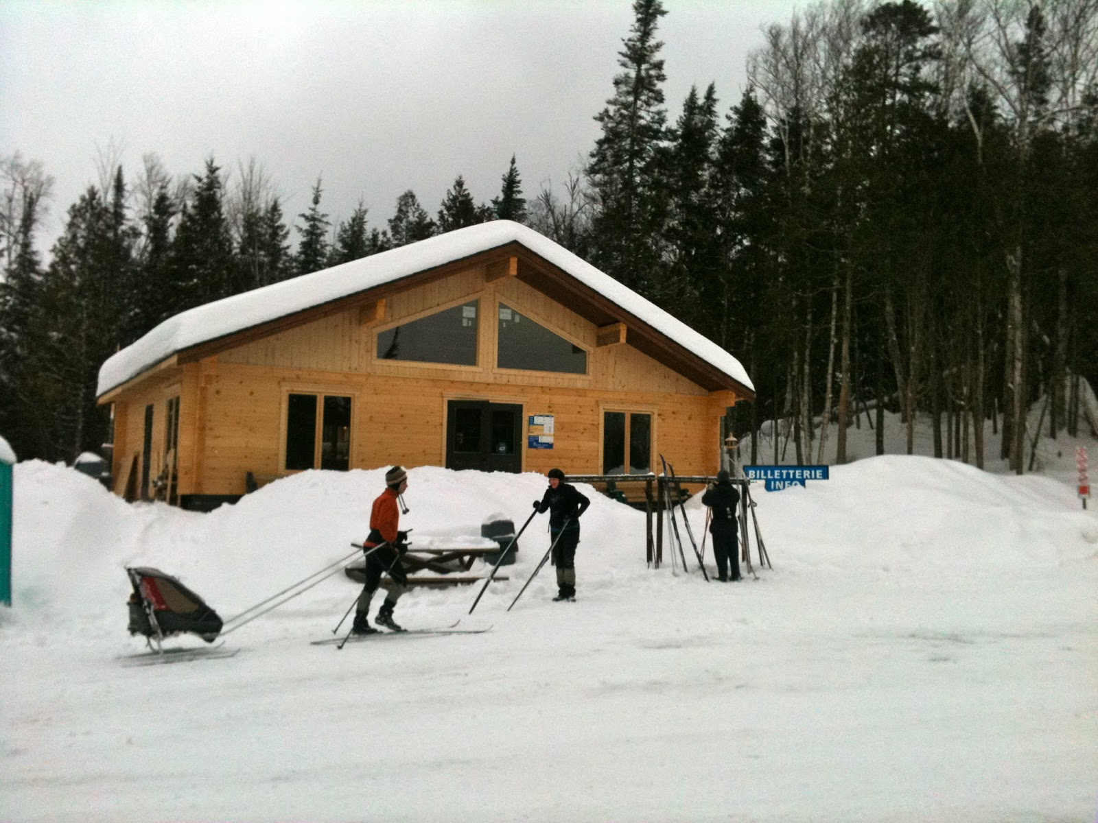 ski glisse centre de ski de fond de l est 233 rel