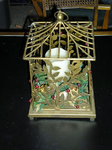 Bird Cage Decorated