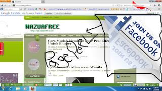 Cara Mudah Membuat Page Peel Effect Untuk Blogger