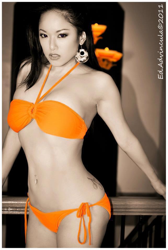 Desirae spencer stripping bikini