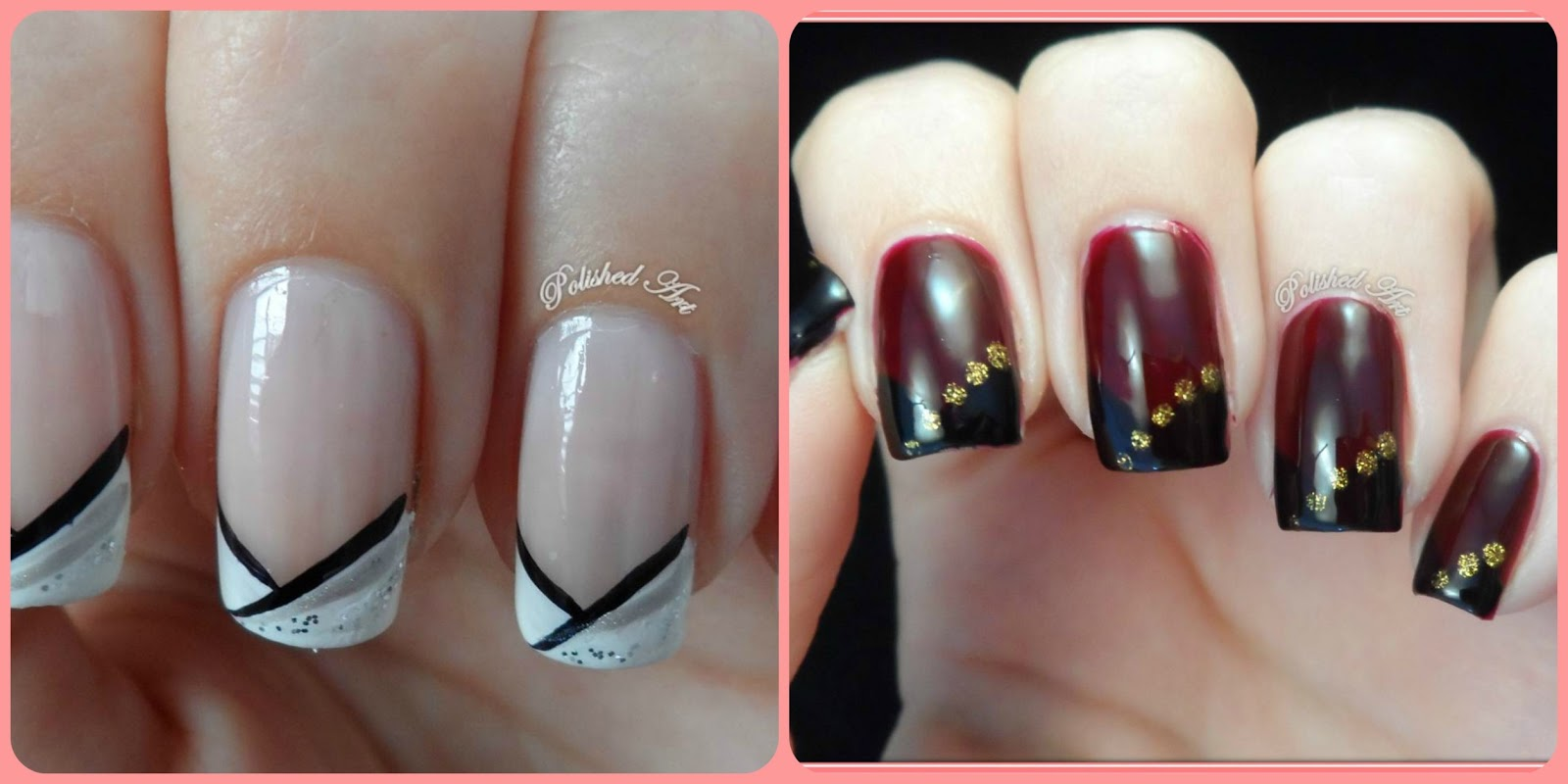Polished Art: Nail Art In A Hurry #2