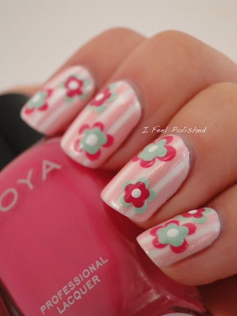Easy Nail Art Flowers