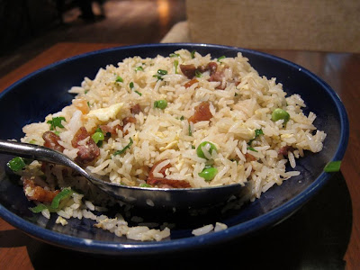 Fried Rice with duck and shrimp at China House Mumbai
