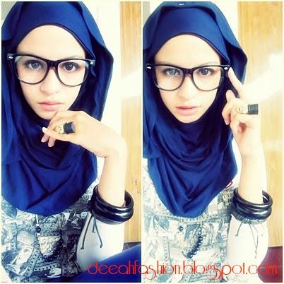 Gaya Jilbab Sassy Chic Culun Modis