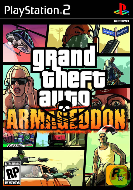 GTA San Andreas: Armageddon [Ingles] [NTSC] [PS2] [FLS]