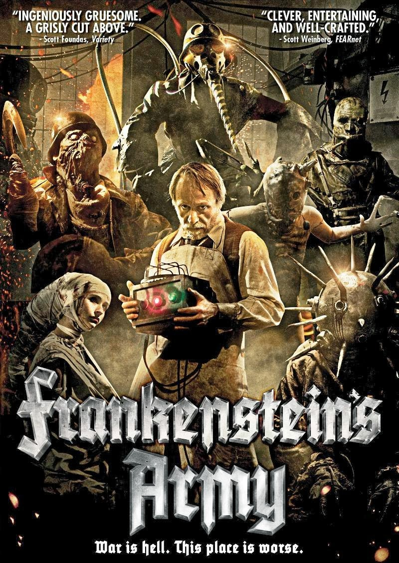 O Exército de Frankenstein – Dublado (2013)