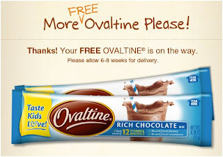 FREE Ovaltine Sample (Live Again)