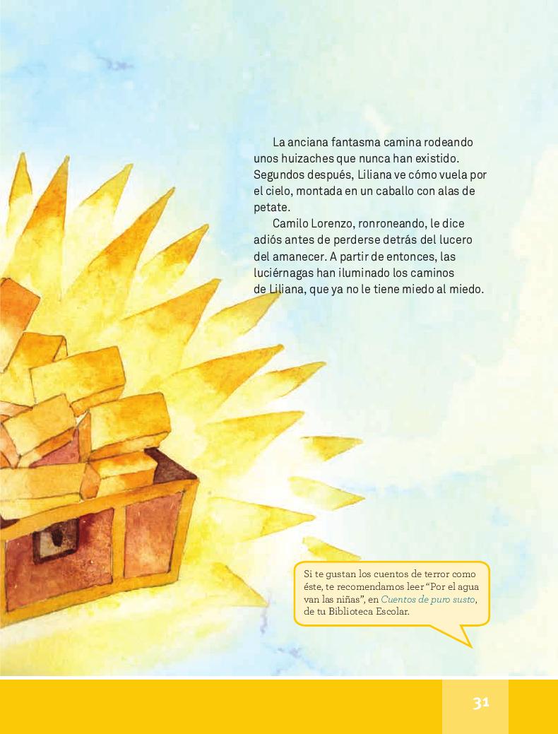 Alas de petate - Español Lecturas 4to 2014-2015