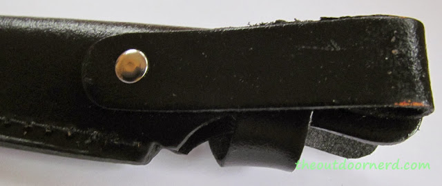 Elk Ridge Er-196 Fixed Blade Knife - Closeup Of Sheath 4