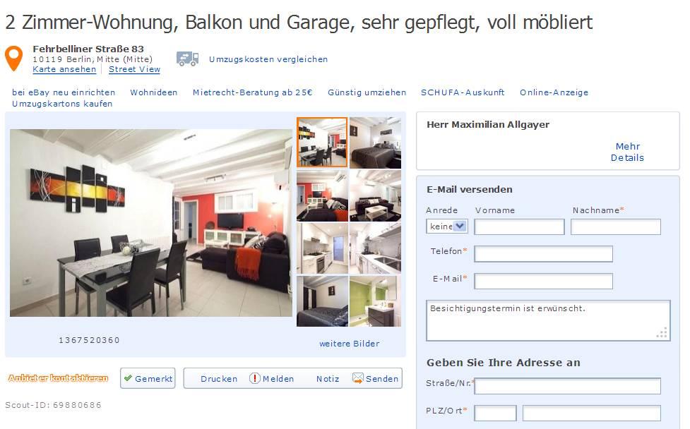 Wohnungsbetrug2013 informationen ber wohnungsbetrug for 1 zimmer wohnung darmstadt