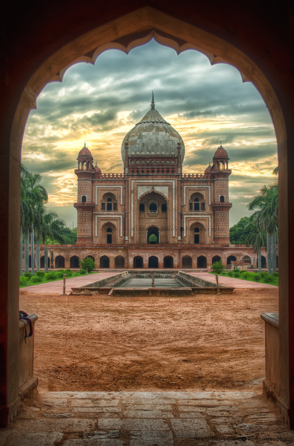 Tomb, New Delhi, India