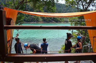 Coral Flyer in Sabah