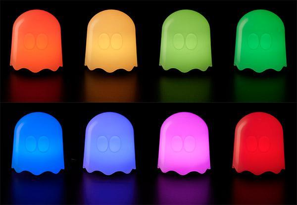 Lampe Pac-Man Ghost - la lampe PacMan Fantôme à Led officielle - À ...