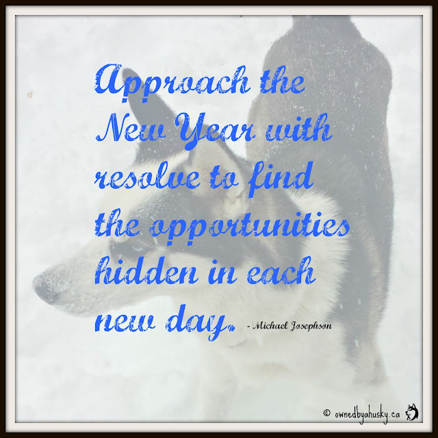 Approach The New Year With Resolve - quote