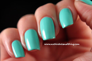 China Glaze Neon On The Shore Collection - too yaucht to handle