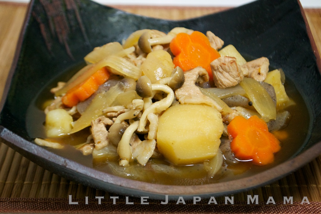 little japan mama : Nikujaga Recipe