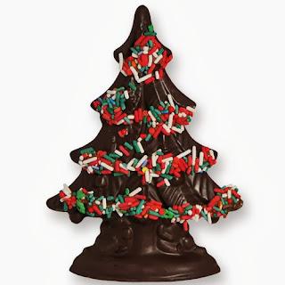 Navidad, Arboles de Chocolate