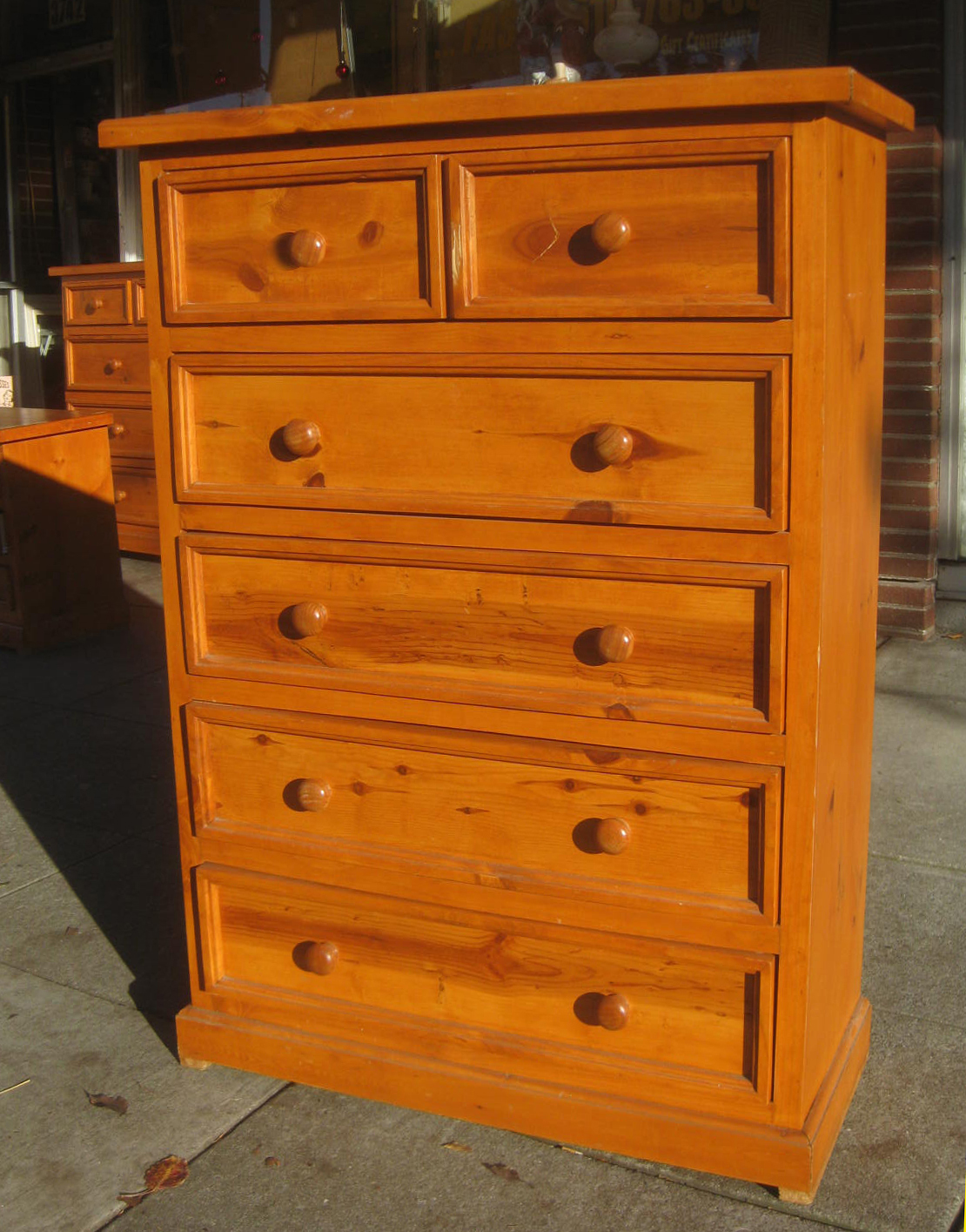 uhuru furniture collectibles sold knotty pine highboy