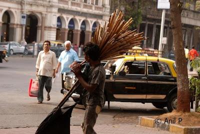 Street Flute Player In Mumbai