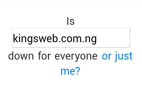 check site status