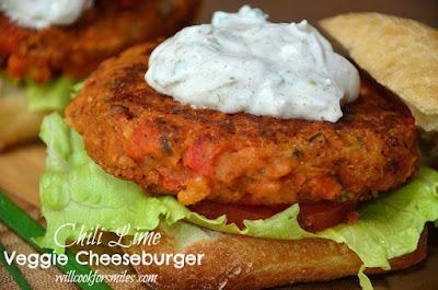 Simple recipes of vegetable hamburgers