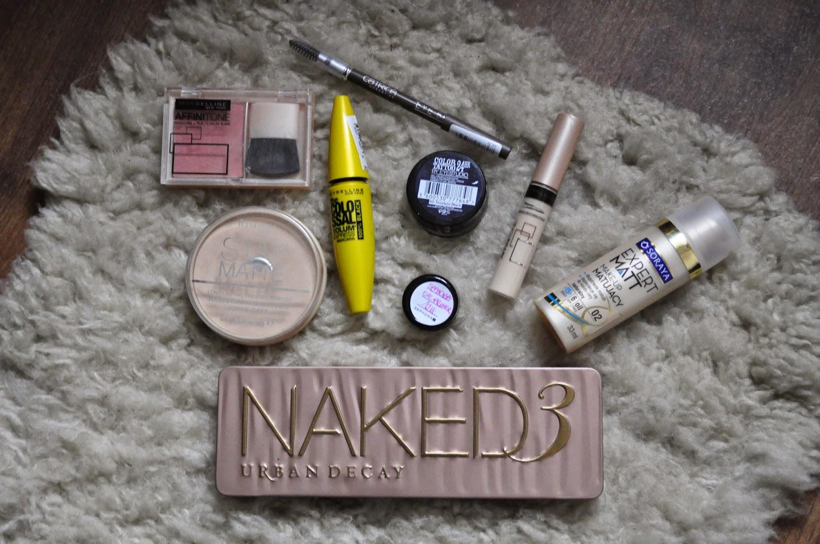 Mój dzisiejszy make-up!