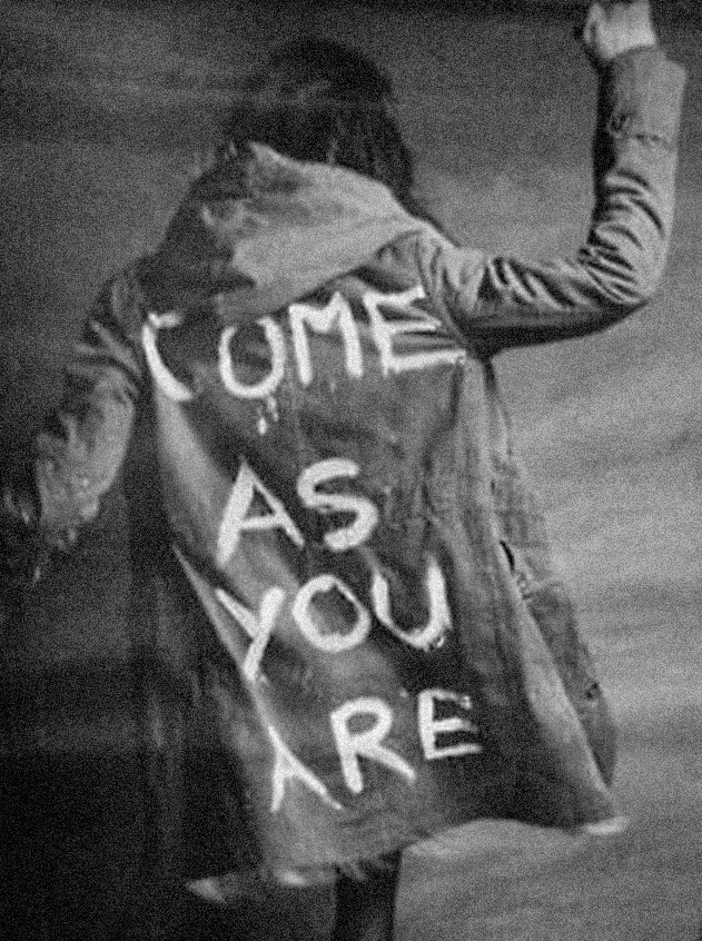 """""""Come as you are!"""" Jesus"""