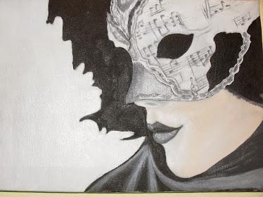 muzička maska-umetnik vladisav art bogićević (slikar luna-niš)VLart