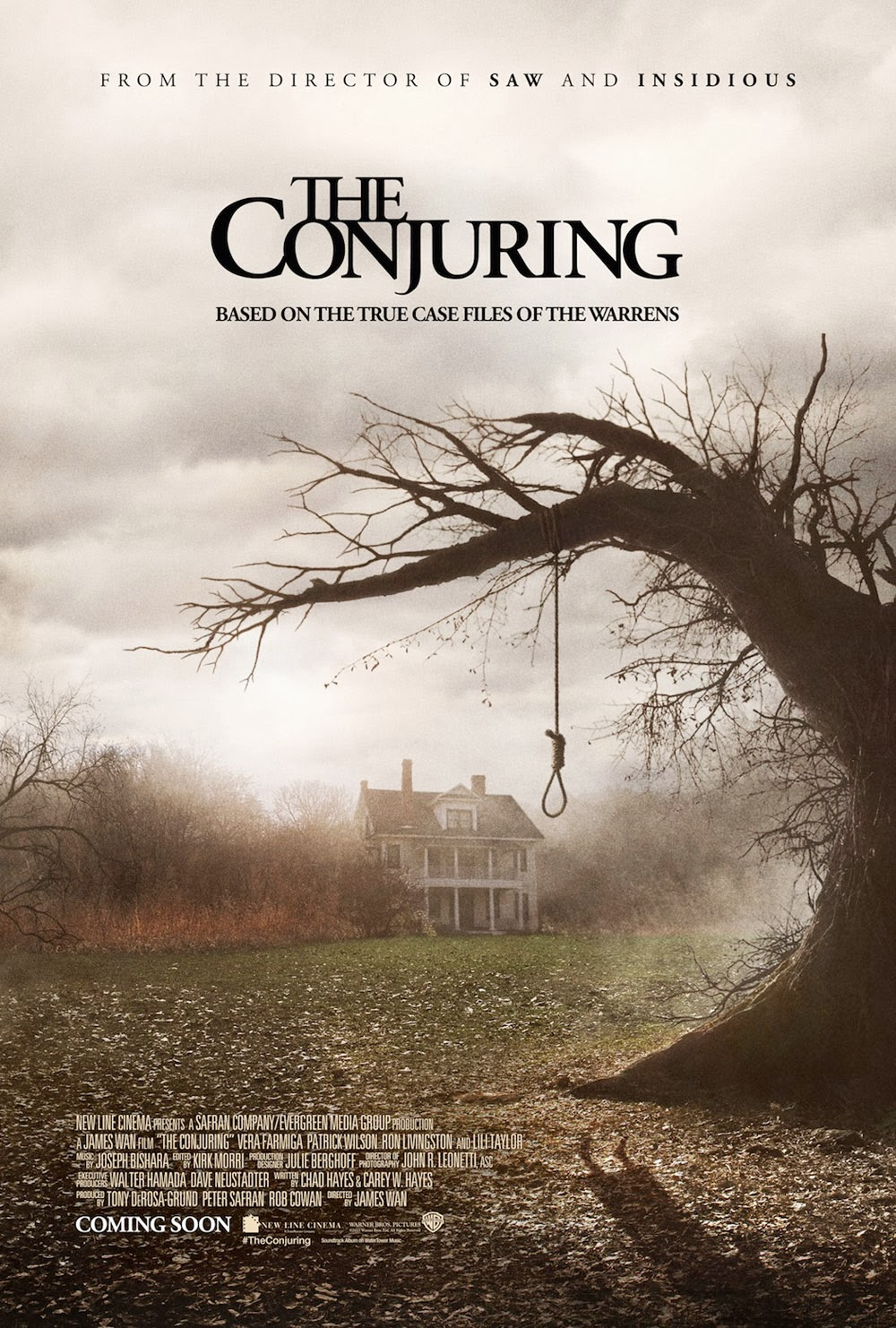 the tagline: the conjuring