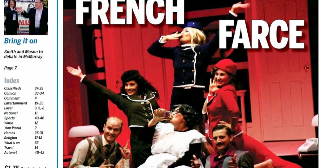 Middle age bulge for French farce