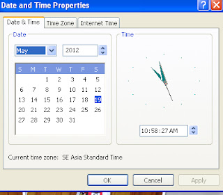 date and time properties