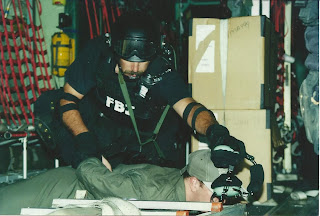 Denham served on the SWAT team at the FBI.