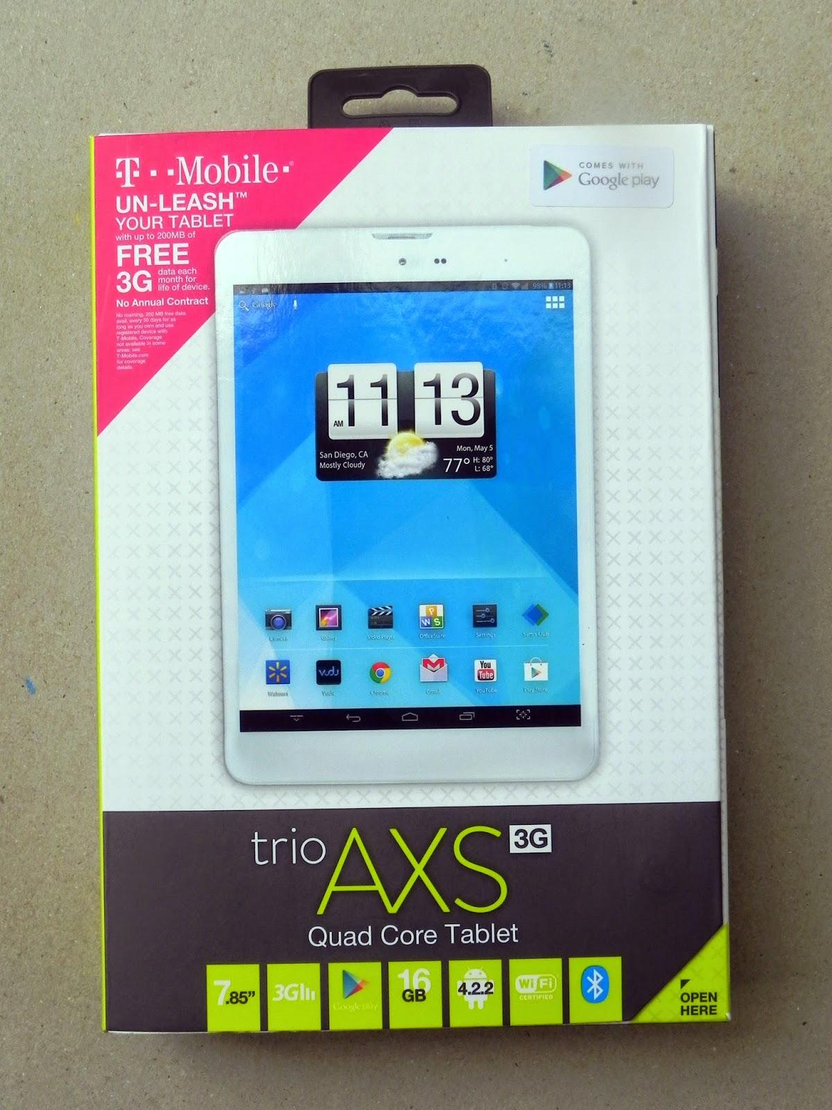 TMobile Trio Tablet Free Data #TabletTrio #shop