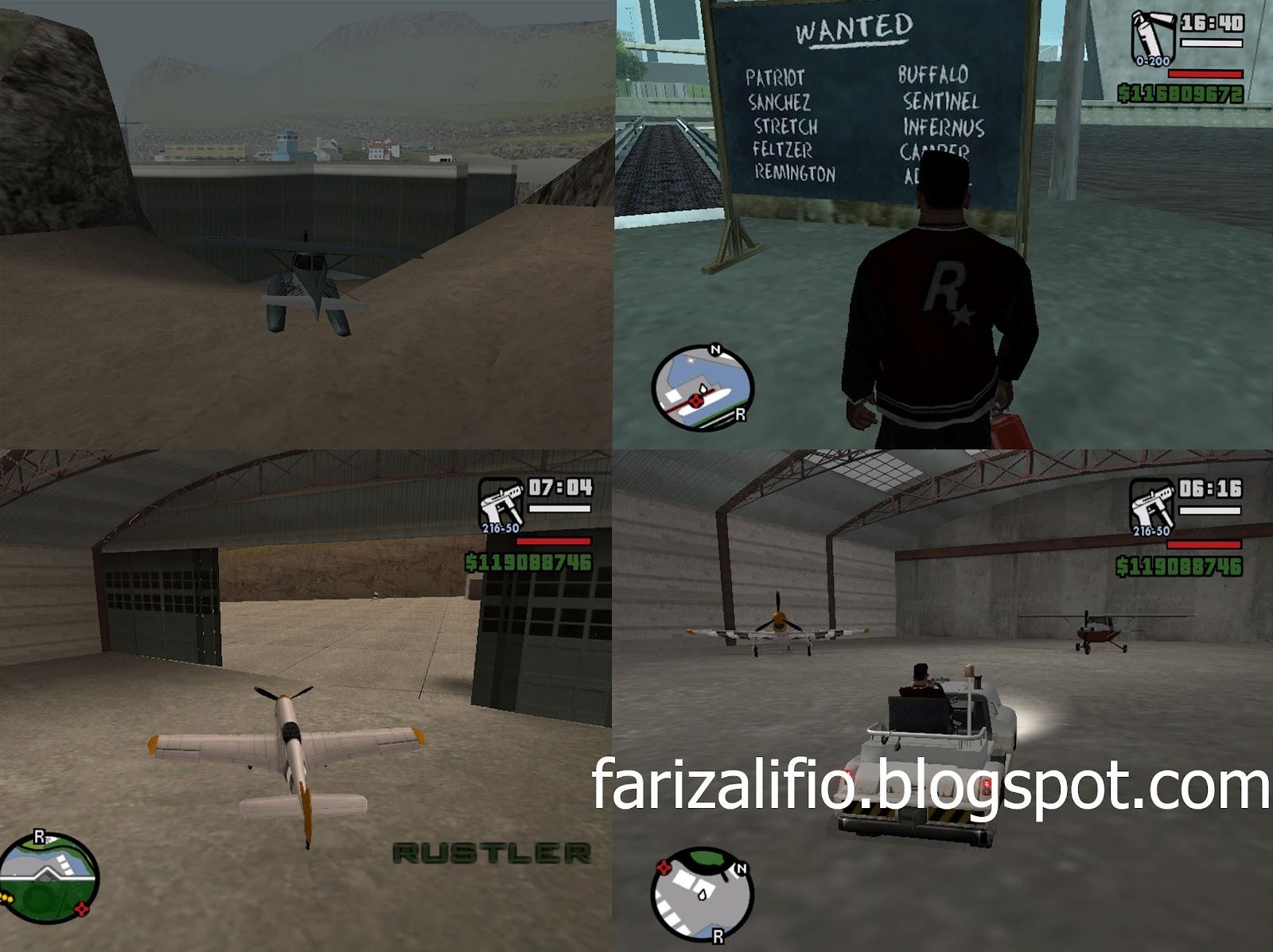 ... Alifio's Blog: Free Download Game GTA San Andreas Full RIP + cheat