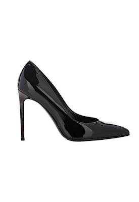SAINT LAURENT PARIS SKINNY PUMPS-BLACK