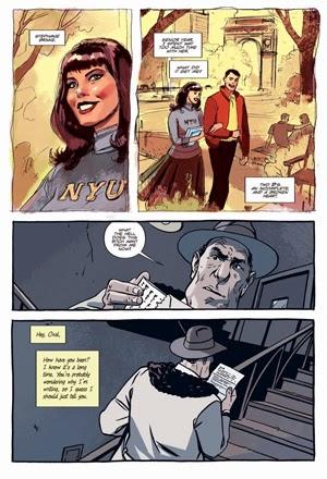 """paginas del cómic """"Grima"""" de John Arcudi y Jonathan Case"""