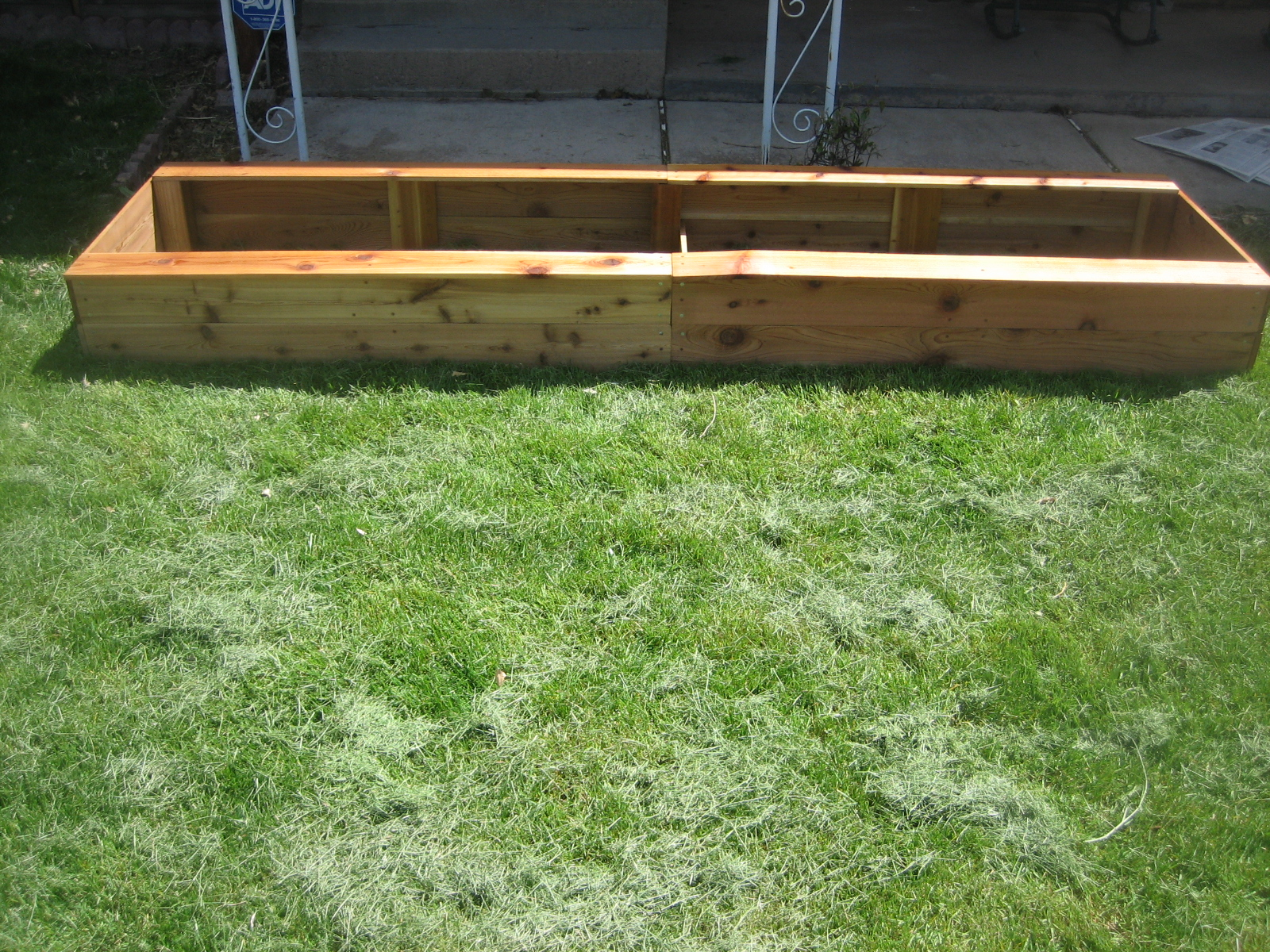 Beau Cedar Garden Box For The Front Yard