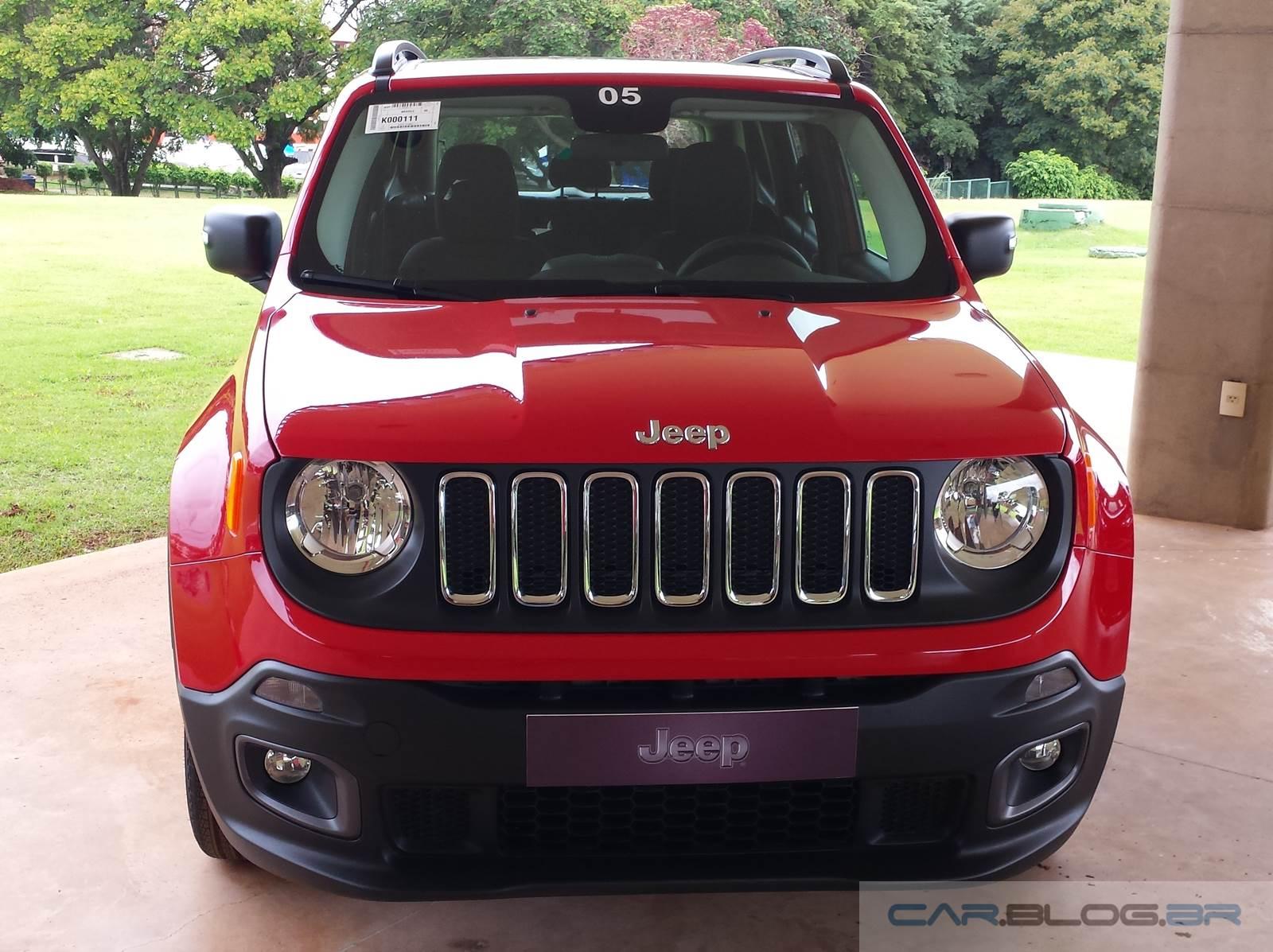 Jeep Renegade 1.8 Flex Automático - consumo
