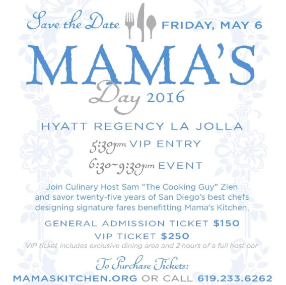 Don't Miss Mama's Day, San Diego's Original Tasting Event, On May 6!