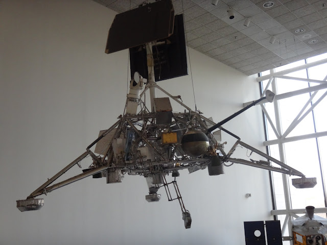 Surveyor to survey potential Apollo landing sites and obtain photographs and other specific information at Space and Air Museum in Washington DC, USA