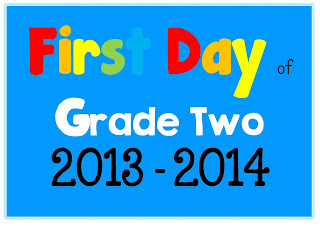 FREE download PDFFirst Day of School Photo