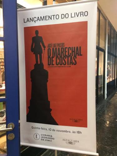 Lançamento do livro: O Marechal de Costas, de José Luiz Passos